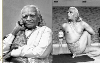 Iyengar maestro di yoga